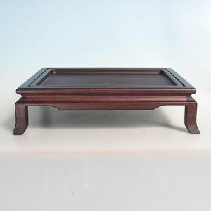 Drewniany stół pod bonsai brązowy 39 x 31 x 10 cm