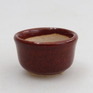 Miska mini bonsai 2,5 x 2,5 x 2 cm, kolor brązowy