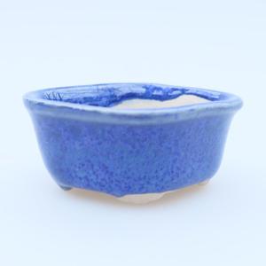 Miska mini bonsai 5 x 4 x 2 cm, kolor niebieski