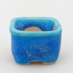 Miska mini bonsai 2,5 x 2,5 x 1,5 cm, kolor niebieski