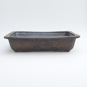 Miska ceramiczna 2 bonsai, jakość - wypalana w piecu gazowym 1240 ° C