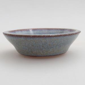 Ceramiczna miska bonsai 5,5 x 5,5 x 1,5 cm, kolor niebieski