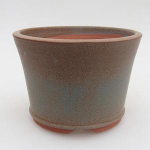 Ceramiczna miska bonsai 11,5 x 11,5 x, 5 cm, kolor niebieski