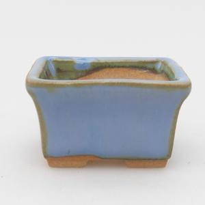 Mini miska bonsai 4 x 3 x 2,5 cm, kolor niebieski