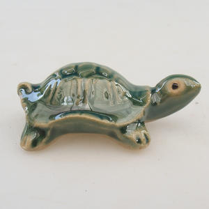 Ceramiczna figurka - duży żółw