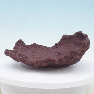 Keramická Skořápka 21 x 18 x 9 cm , barva  hnědá