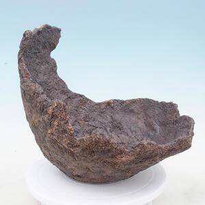 Keramická Skořápka 31 x 28 x 28 cm , barva  hnědá