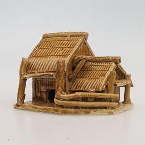 Figurka ceramiczna - Chatrč