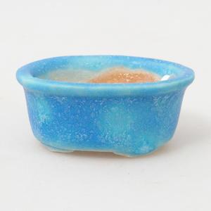 Mini miska bonsai 4,5 x 4 x 2 cm, kolor niebieski