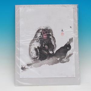 Kaligrafia - Małpy