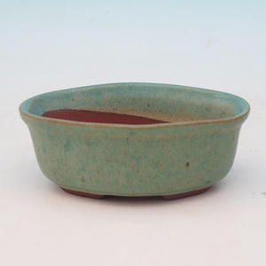 Bonsai ceramiczne miseczki H 05, zielony