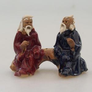 Figurka ceramiczna - para graczy
