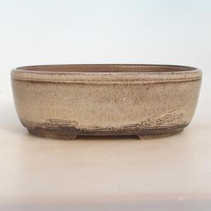 Bonsai miska 27 x 20 x 9 cm, barva šedobéžová