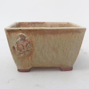 Ceramiczna miska bonsai - Wiewiórka