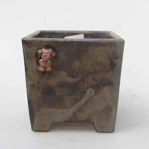 Ceramiczna miska bonsai - pies