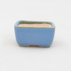 Mini miska bonsai 4,5 x 3 x 2,5 cm, kolor niebieski