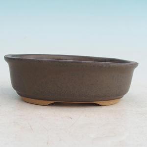 Bonsai ceramiczne miseczki H 04, brązowy