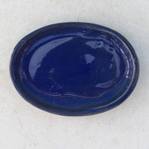 Taca na wodę Bonsai H 04 - 10 x 7,5 x 1 cm, niebieski - 10 x 7,5 x 1 cm