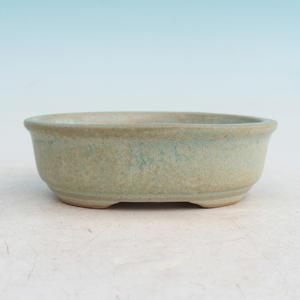 Bonsai ceramiczne miseczki H 04, zielony