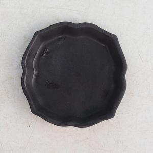 Taca Bonsai wys. 95 - 7 x 7 x 1 cm, biały - 7 x 7 x 1 cm