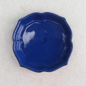 Taca Bonsai wys. 95 - 7 x 7 x 1 cm, niebieski - 7 x 7 x 1 cm