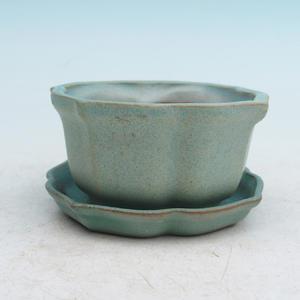 bonsai miska i zasobnik wody H95, zielony