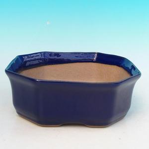 Ceramiczna miska bonsai H 14 - 17,5 x 17,5 x 6,5 cm
