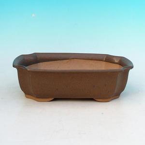 Bonsai ceramiczne miseczki H 03, brązowy