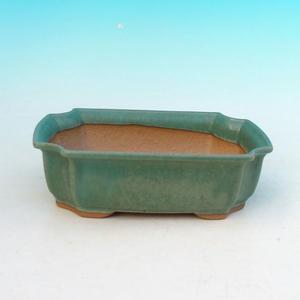Bonsai ceramiczne miseczki H 03, zielony
