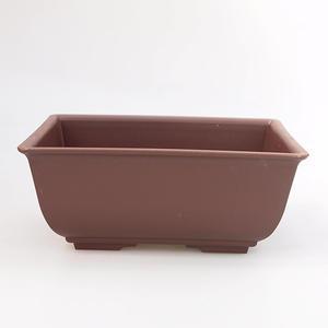 Bonsai Zasobnik wody z tworzywa sztucznego PP-1, brązowy