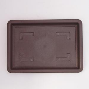 Bonsai taca plastikowa wody PP 2vacl, brązowy