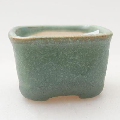 Mini miska bonsai 4 x 3,5 x 2 cm, kolor zielony - 1