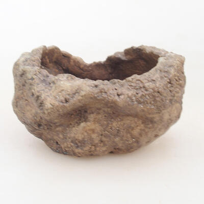 Ceramiczna skorupa 7 x 6 x 5 cm, kolor brązowy - 1