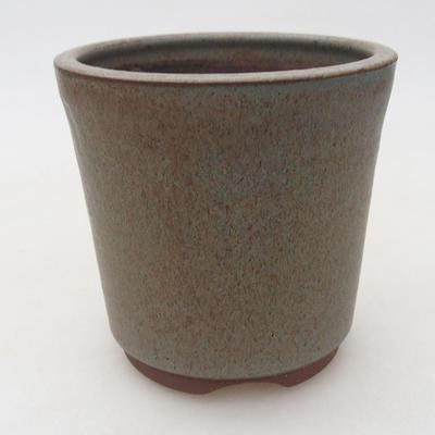 Ceramiczna miska bonsai 10 x 10 x 10 cm, kolor niebieski - 1