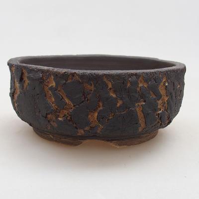 Ceramiczna miska bonsai 15 x 15 x 6 cm, kolor spękany - 1