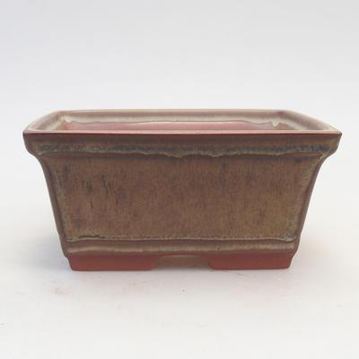 Miska Bonsai 14,5 x 12 x 7 cm, kolor brązowy - 1