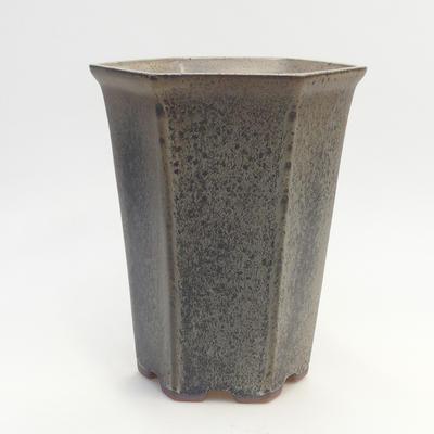 Miska Bonsai 17 x 15 x 20,5 cm, kolor szary - 1