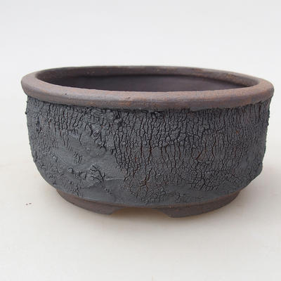 Ceramiczna miska bonsai 10 x 10 x 4,5 cm, kolor spękany - 1