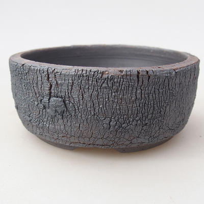 Ceramiczna miska bonsai 9 x 9 x 3,5 cm, kolor spękany - 1
