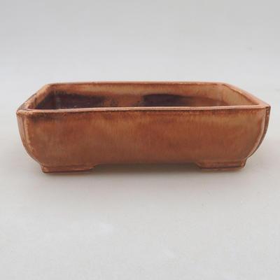 Ceramiczna miska bonsai 13 x 10 x 4 cm, kolor różowy - 1