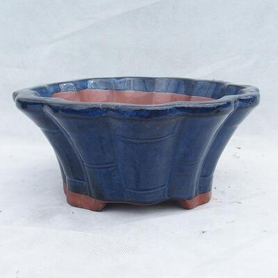 Miska Bonsai 29 x 29 x 13 cm, kolor niebieski - 1