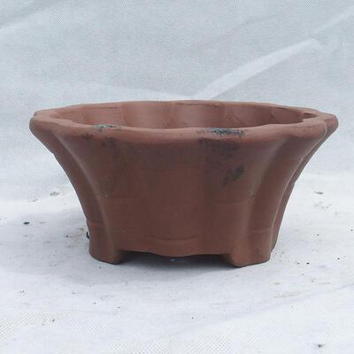 Miska Bonsai 22 x 22 x 10 cm, kolor szary - 1