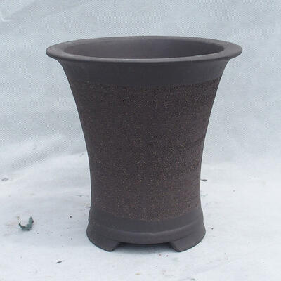 Miska Bonsai 20 x 20 x 20 cm, kolor szary - 1