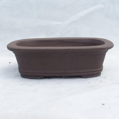 Miska Bonsai 22 x 15 x 7 cm, kolor szary - 1
