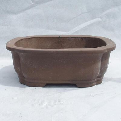 Miska Bonsai 31 x 25 x 11 cm, kolor szary - 1