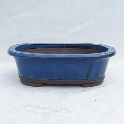 Miska Bonsai 29 x 21 x 9 cm, kolor niebieski - 1