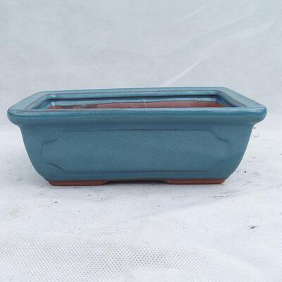 Miska Bonsai 21 x 15 x 7 cm, kolor niebieski - 1
