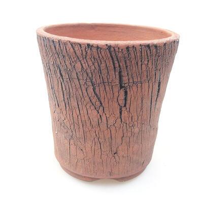 Ceramiczna miska bonsai 12,5 x 12,5 x 13 cm, kolor czarny - 1