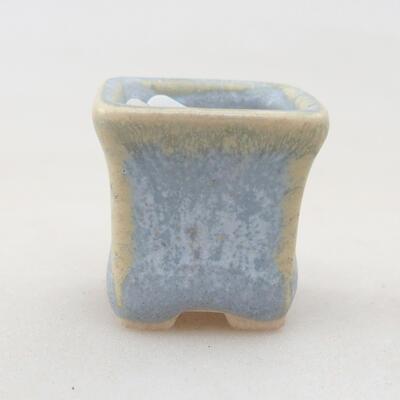 Mini miska bonsai 2 x 2 x 2,5 cm, kolor niebieski - 1