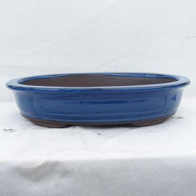 Miska Bonsai 51 x 41 x 10 cm, kolor niebieski - 1